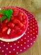 holundige Erdbeertorte ohne Backen