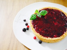 fixe Beeren-Mascarpone-Torte ohne Backen