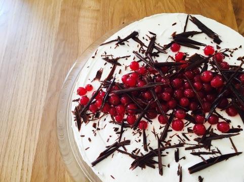 doppeltschokoladige Torte