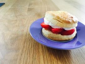 entzückende Erdbeer-Shortcakes