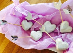 Valentins Cake pops