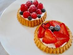 bildschöne Beeren-Tartelettes