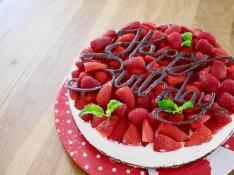 lockere Erdbeer-Schoko-Torte
