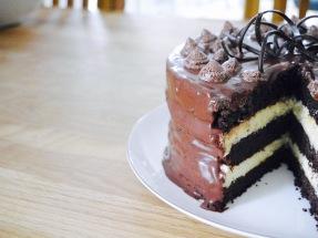 weltbeste Schoko-Cheesecake-Torte